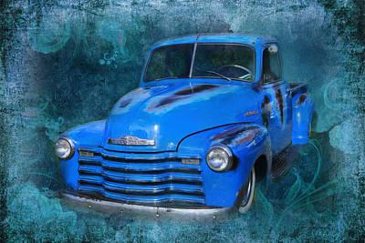 Chev Pickup Art Print by Keith Hawley