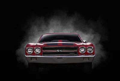 Digital Art - Chevelle Ss by Douglas Pittman