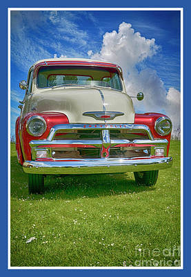 Digital Art - Chevrolet 22 by Wendy Wilton