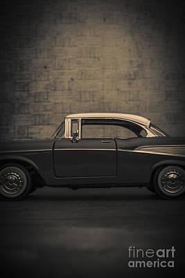 57 Photograph - Chevrolet Bel Air  by Edward Fielding