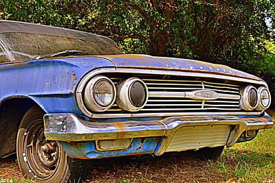 Photograph - Chevrolet Bel Air 2 by Lisa Wooten