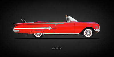 Chevrolet Impala Photograph - Chevrolet Impala by Mark Rogan