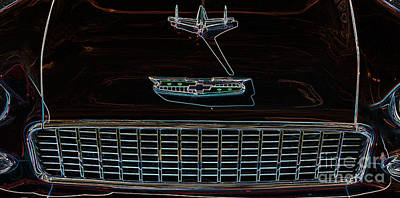 Digital Art - Chevrolet 8 by Wendy Wilton