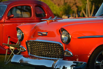 Photograph - Chevy At Sunrise by Dean Ferreira