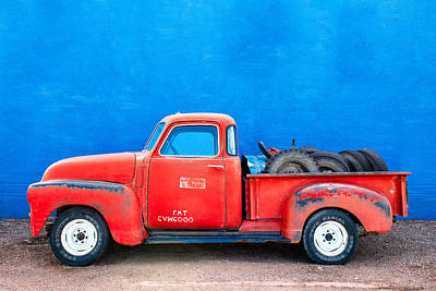 Antique Truck Photograph - Chevy Classic by Todd Klassy