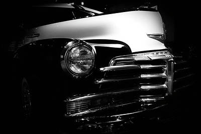 Photograph - Chevy Noir by Mark David Gerson