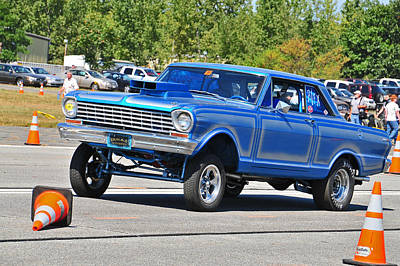 Stp Photograph - Chevy Nova Ss  by Mike Martin