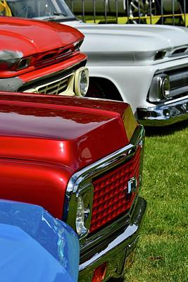 Photograph - Chevy Pickups by Dean Ferreira