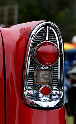 Photograph - Chevy Tail Light by Dean Ferreira