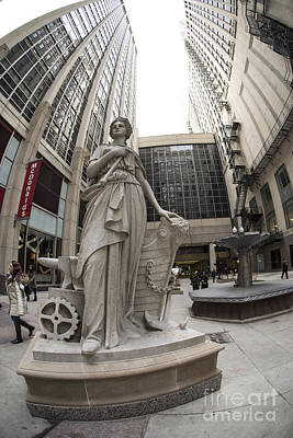 Photograph - Chicago Board Of Trade by David Bearden