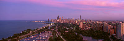 Chicago, Diversey Harbor Lincoln Park Art Print