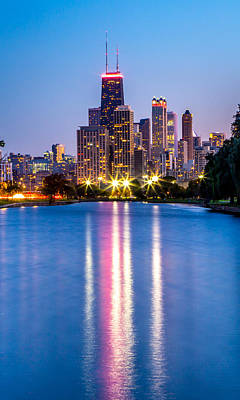 Photograph - Chicago Lakefront by Lev Kaytsner