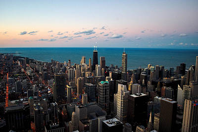 Photograph - Chicago Skyline 2 by Richard Zentner