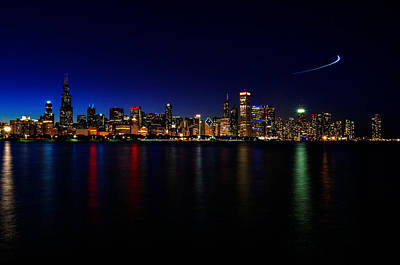 Photograph - Chicago-skyline 3 by Richard Zentner