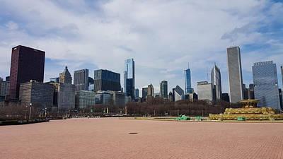 Chicago Skyline Photograph - Chicago Skyline by Britten Adams