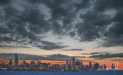 Chicago Skyline Photograph - Chicago Skyline by Jim Wright
