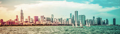 Art Print featuring the photograph Chicago Skyline by Joel Witmeyer