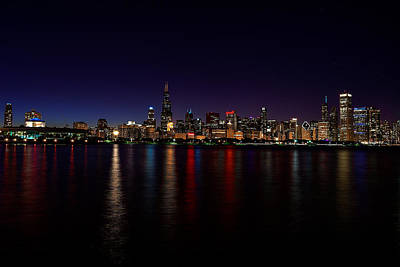 Photograph - Chicago-skyline by Richard Zentner