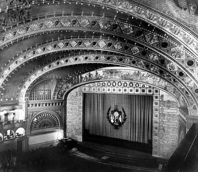1880s Photograph - Chicago. The Chicago Auditorium by Everett