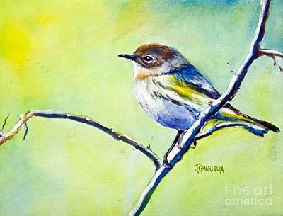 Chickadee Art Print by Joyce A Guariglia