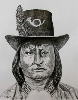 Chief Bird Arapahoe Art Print by Stan Hamilton