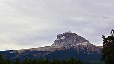 Photograph - Chief Mountain, Northside by Tracey Vivar