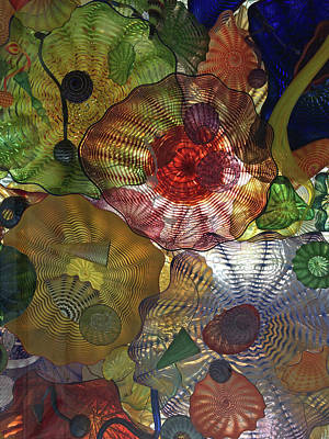 Photograph - Chihuly Bridge Of Glass by Jacklyn Duryea Fraizer