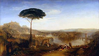 Literature Painting - Childe Harold's Pilgrimage by JMW Turner