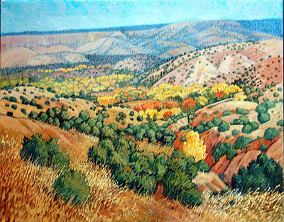 Painting - Chimayo by Donna Clair