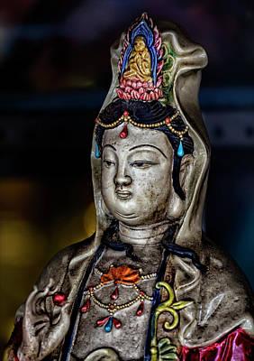 Chinese Statuette  Art Print by Robert Ullmann