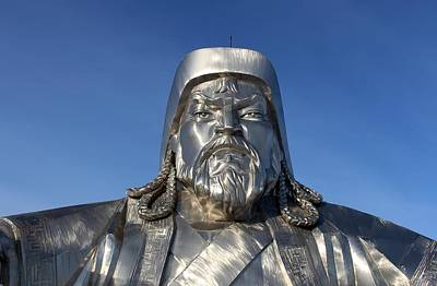 Photograph - Chinggis Khan/tsagaan Sar by Diane Height
