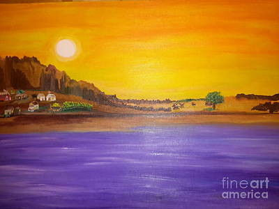 Chisos Print by Cindy  Riley