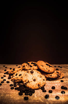 Copy Photograph - Choc Chip Biscuits by Jorgo Photography - Wall Art Gallery