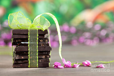Chocolate Print by Nailia Schwarz