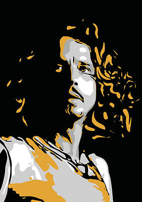 Temple Digital Art - Chris Cornell by Greatom London