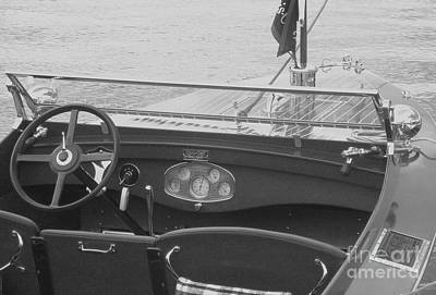 Photograph - Runabout On Pewaukee by Neil Zimmerman