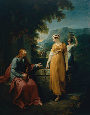 Painting - Christ And The Woman Of Samaria by Treasury Classics Art
