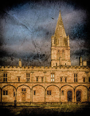 Photograph - Oxford, England - Christ Church College by Mark Forte