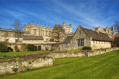 Photograph - Christ Church Oxford by Chris Day