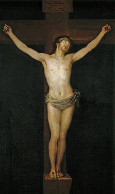 Crucify Painting - Christ Crucified by Francisco Goya
