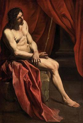 Christ Mocked Art Print