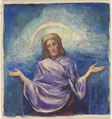 Christ The Redeemer Painting - Christ The Redeemer by John La Farge