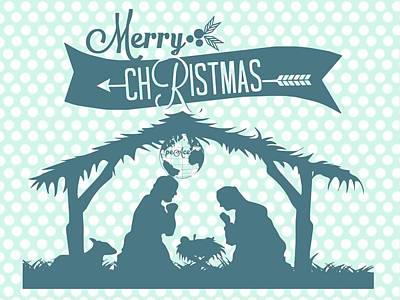 Digital Art - Christmas Card Greeting by Jennifer Baulch