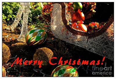 Mixed Media - Christmas Decorations by Bob Pardue
