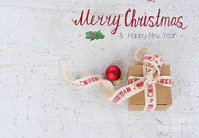 Photograph - Christmas Gift by Anastasy Yarmolovich