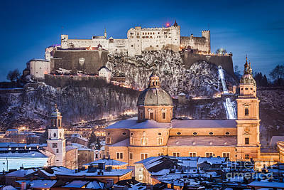Photograph - Christmas In Salzburg by JR Photography