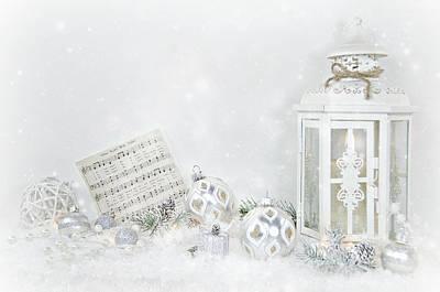 Christmas Lantern Art Print by Maria Dryfhout