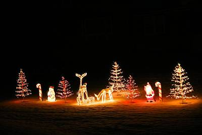 Photograph - Christmas Lights by Kathryn Meyer
