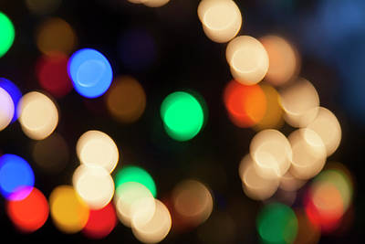 Photograph - Christmas Lights by Susan Stone
