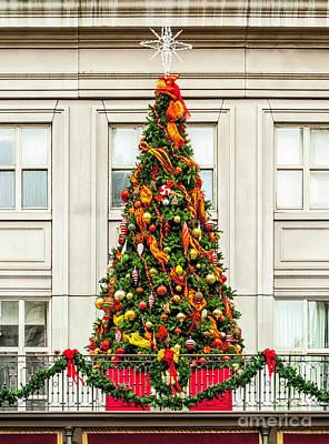 Photograph - Christmas On The Balcony by Frances Ann Hattier